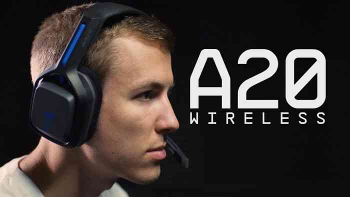 astro a20 wireless headset top