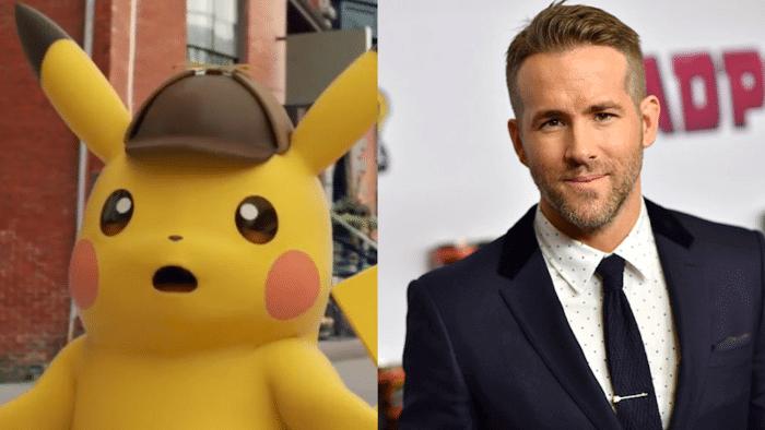 Detective Pikachu Ryan Reynolds casting