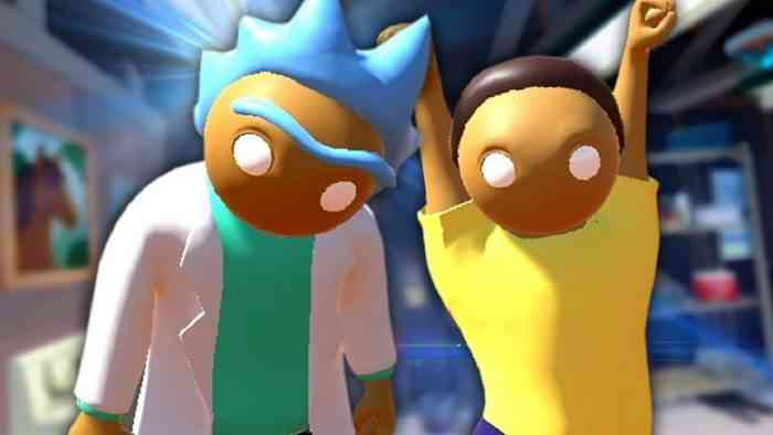 Gang Beasts Rick and Morty