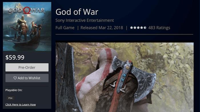 God of War release date leaked