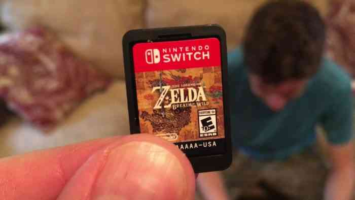 Nintendo is delaying the Switch's 64GB game cards