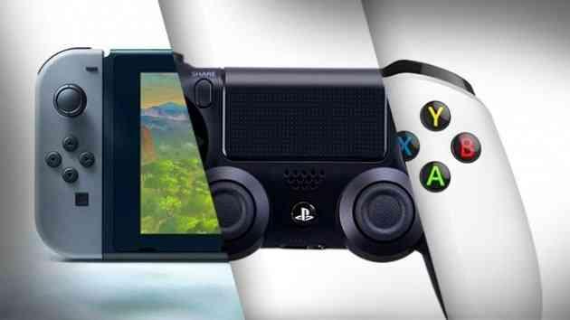 ps4 vs xbox one vs switch
