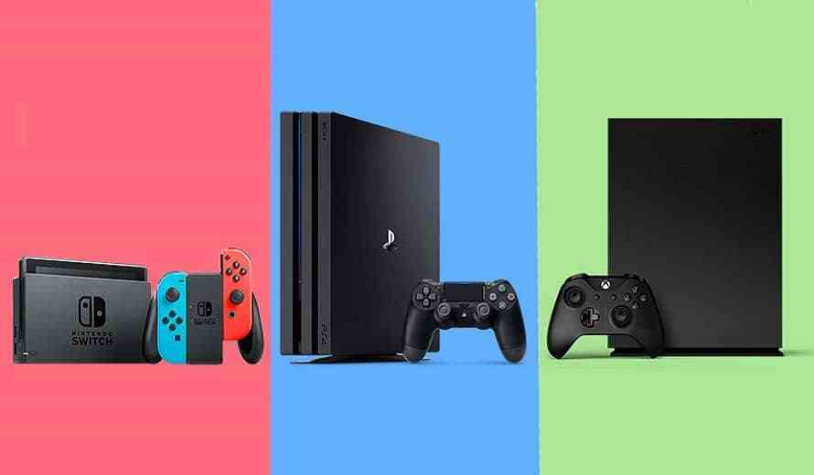 xbox switch ps4 nintendo games