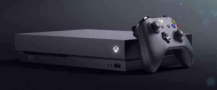 Xbox One X Project Scorpio 1280x