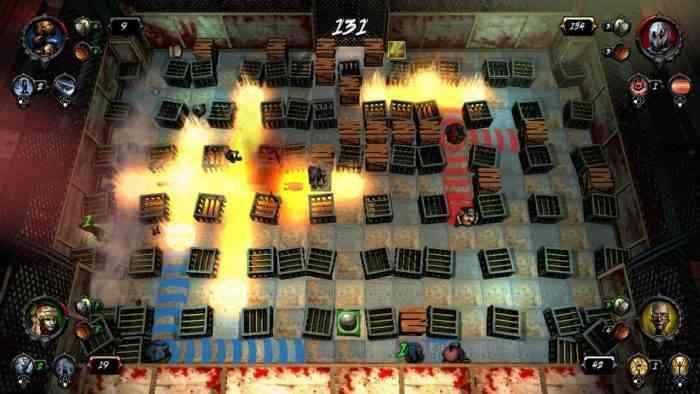 Brawl macabre Bomberman Switch