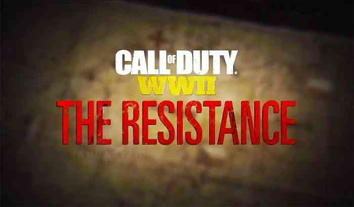 The Resistance Call of Duty WWII Featured