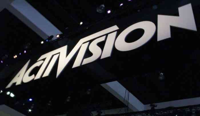 Activision logo feature