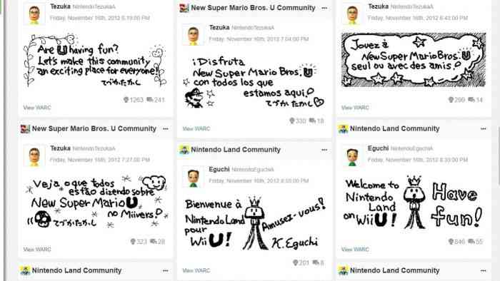 Nintendo's Miiverse lives on in a giant internet archive