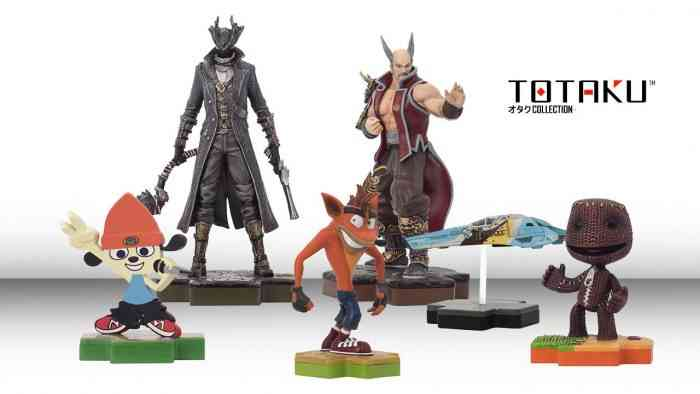 The Totaku Collection Has Been Unveiled; a Series of PlayStation Figurines