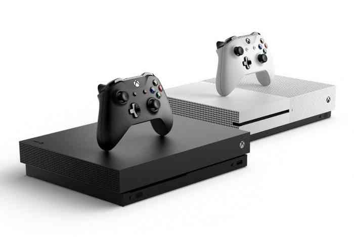 xbox one s and xbox one x top