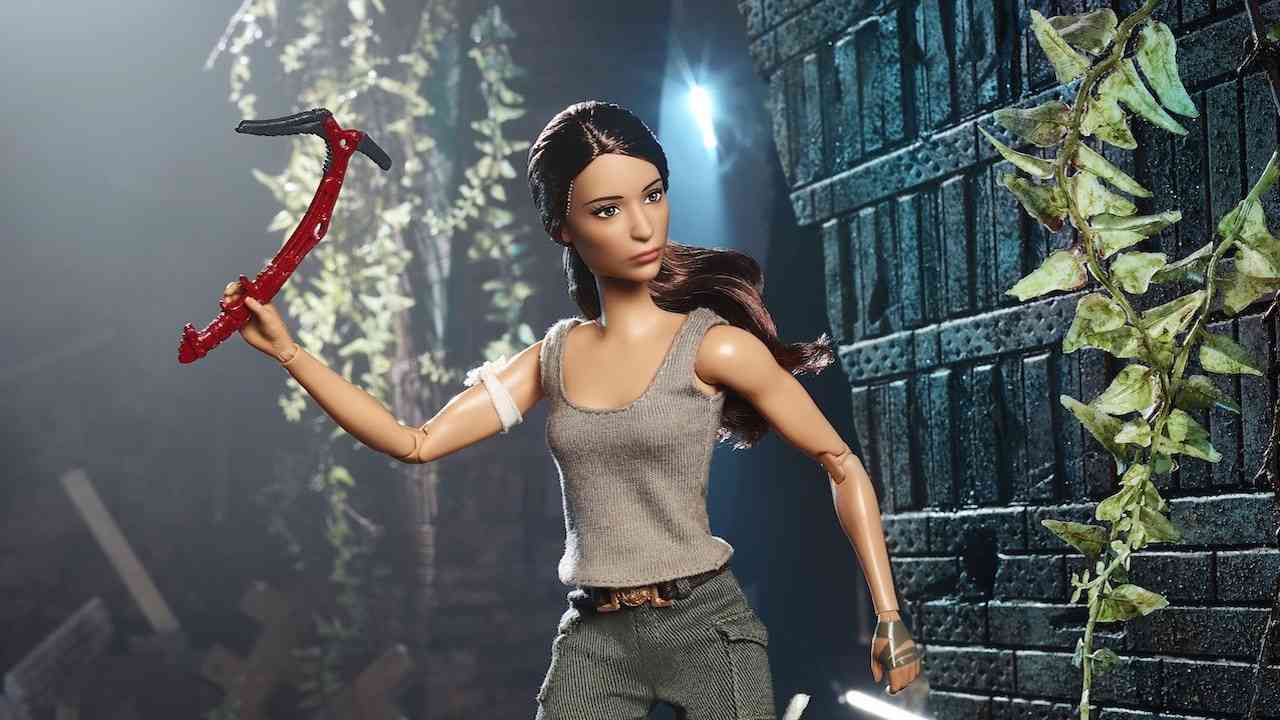 Mattel Is Releasing a Tomb Raider Barbie Doll That You Can