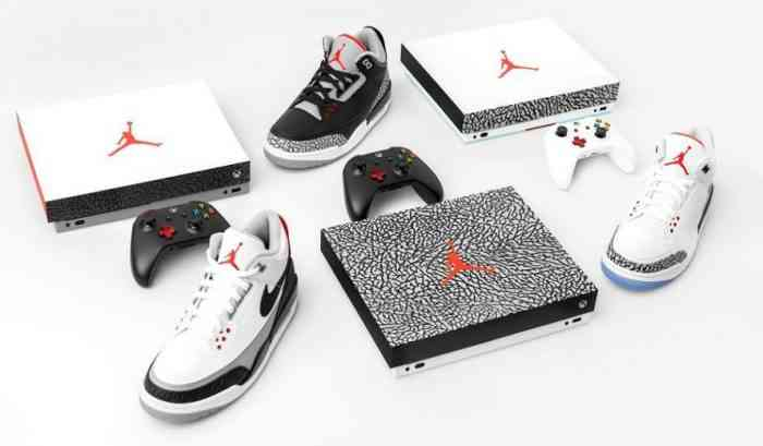Xbox One X Console Inspired by the AirJordan 3