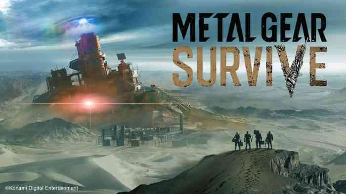New Metal Gear Survive Beta Available To PC Gamers As Well