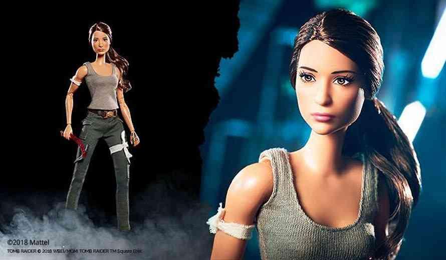 Mattel Unveils Tomb Raider Barbie - IGN