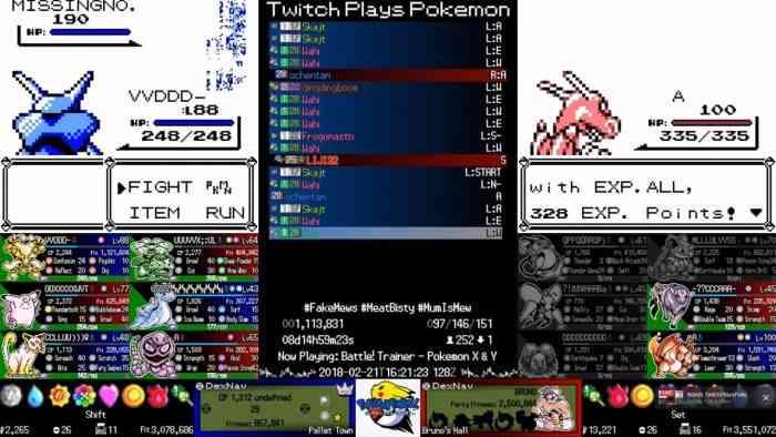 Twitch Plays Pokémon MissingNo