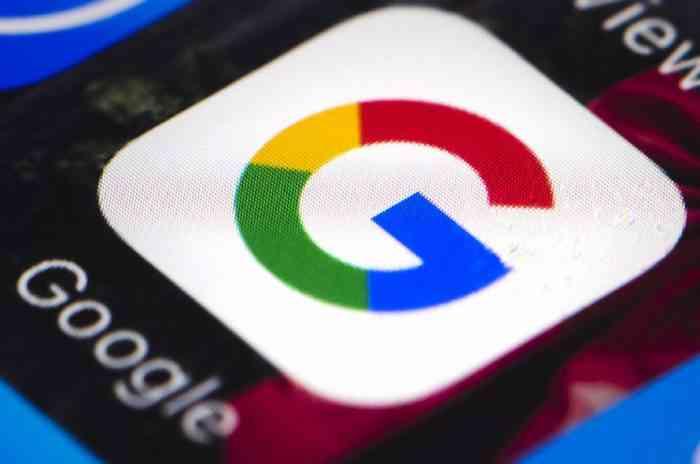 Google app on phones