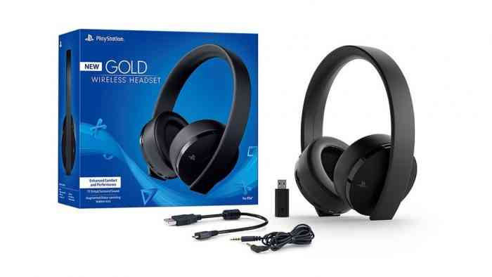 PlayStation Is Releasing A New Gold Wireless Headset For PS4 and PSVR