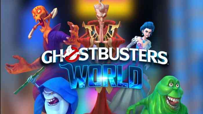 Ghostbusters World logo
