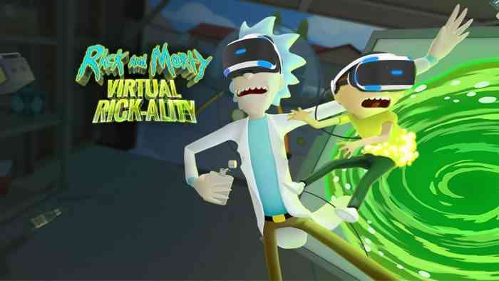 PSVR Rick And Morty Collector's Edition Is $50, Includes Figure And Poster