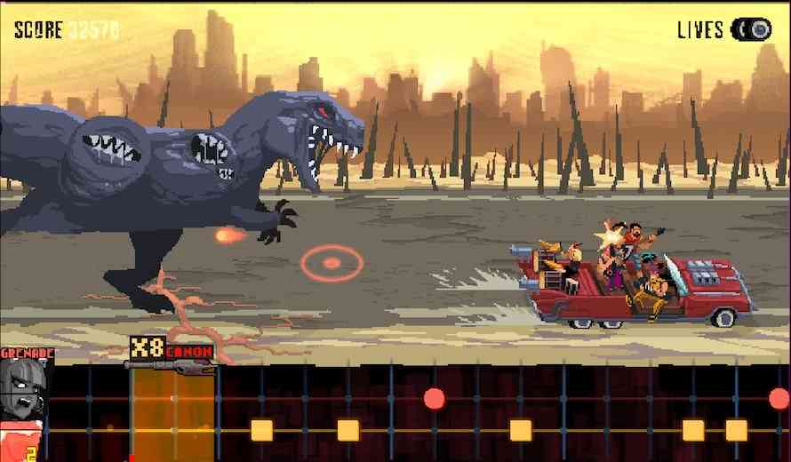Survive the Highway to Hell in Double Kick Heroes As It Shreds Onto Early Access