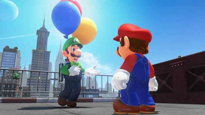 Super Mario Odyssey Luigi's Balloon World Update