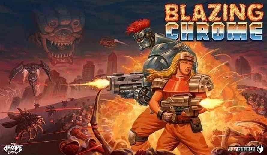 blazing chrome  a love letter to contra and metal slug