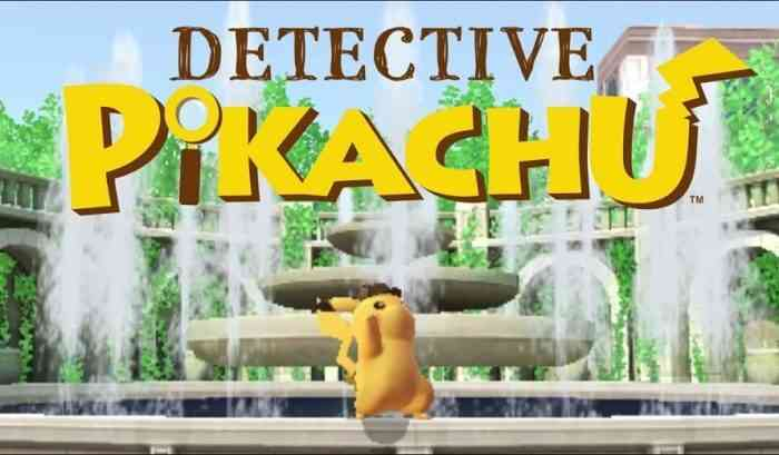 Detective Pikachu Sequel Announced For Switch Cogconnected
