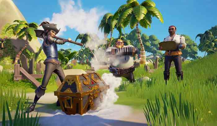 Sea of Thieves charts 5 updates with new mechanics in 2018