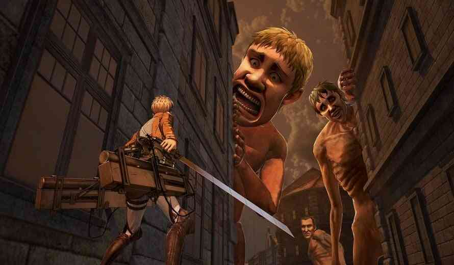 Clear Some Room; PS4 File Size Revealed for Attack on Titan 2