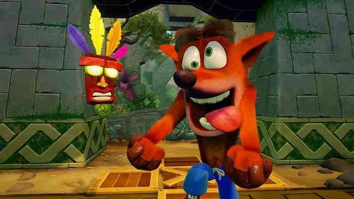 Crash Bandicoot N. Sane Trilogy screenshot single employee