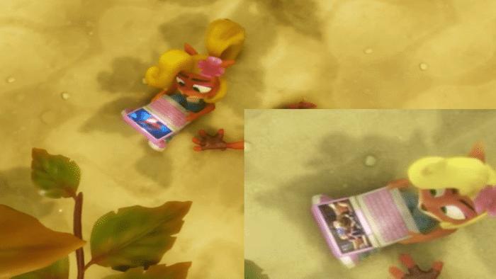 Crash Bandicoot N. Sane Trilogy console ports Naughty Dog references