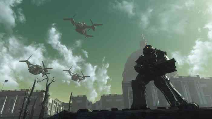 Fallout 4 The Capital Wasteland Project Cancelled after Receiving Legal Advice