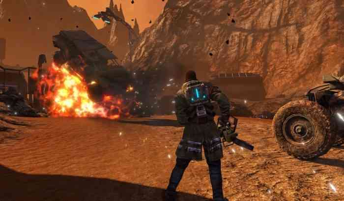 Red Faction: Guerrilla Re-Mars-tered feature