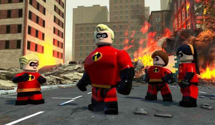 THE INCREDIBLES Gets a LEGO Video Game!