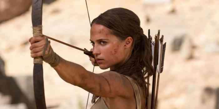 Alicia Vikander: It would be fun to keep playing Lara Croft