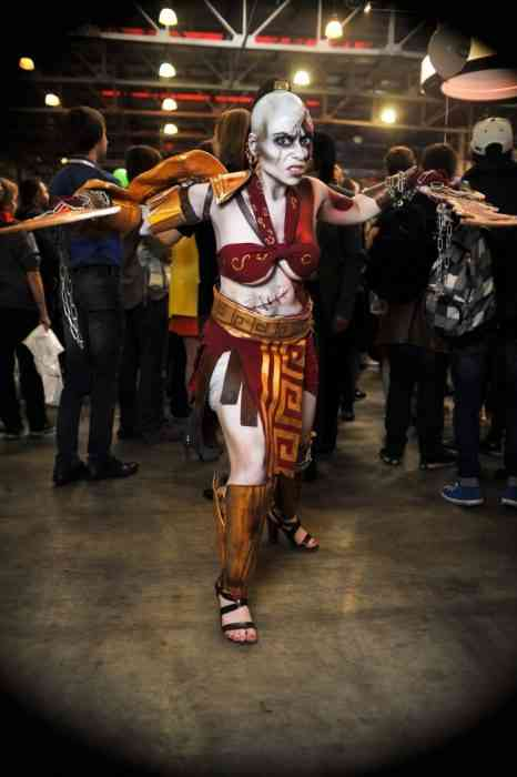 A Super Sexy Collection Of Gender-Bending God Of War -5656