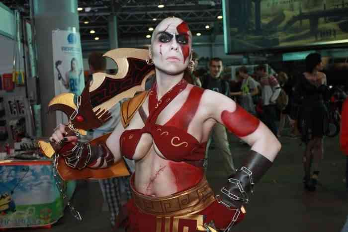 God of War - Kratos Cosplay - Insain Elven Maiden Tatyana - Article 04-min