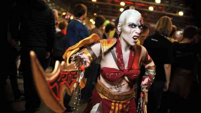 God of War - Kratos Cosplay - Insain Elven Maiden Tatyana - Article Prime-min