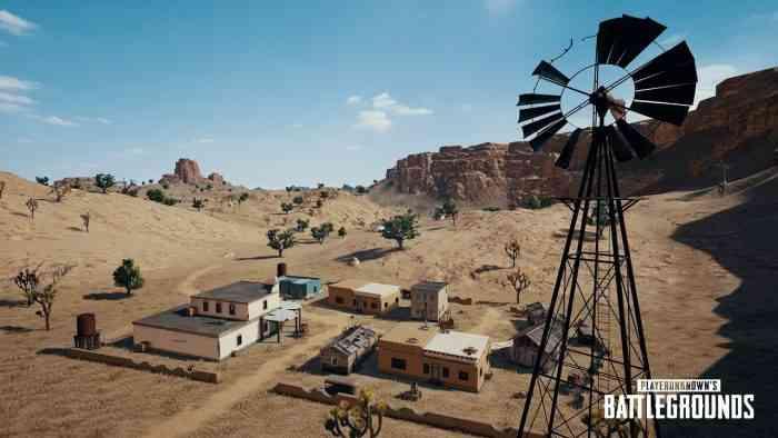 Miramar PUBG Desert Map