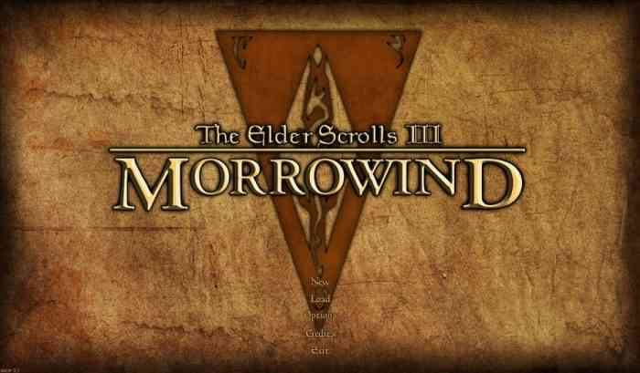 Bethesda Is Offering Up Free The Elder Scrolls III: Morrowind