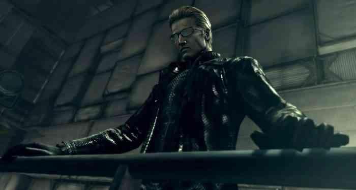 Villains - Albert Wesker - Resident Evil-min