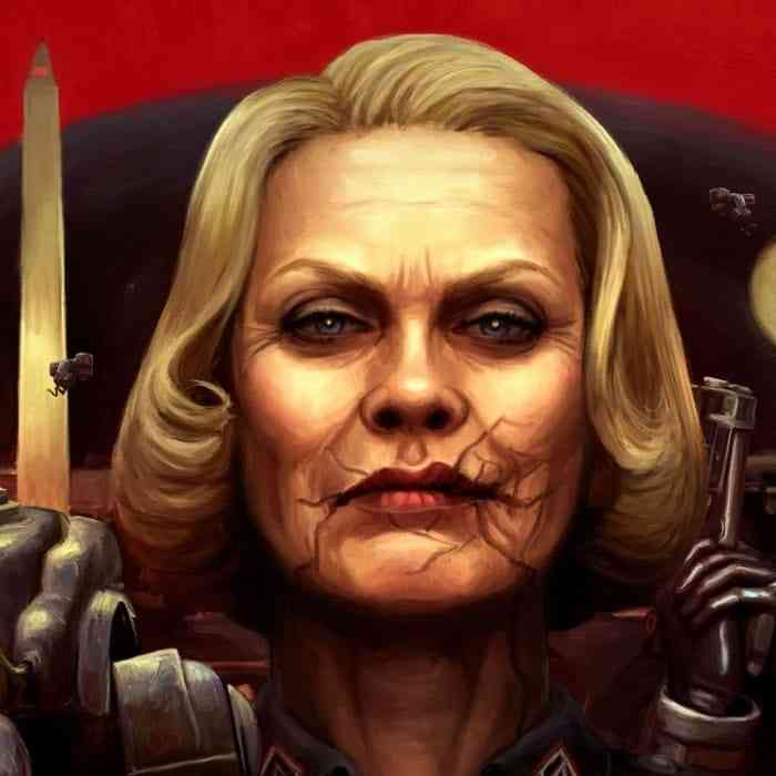 Villains - Frau Engel - Wolfenstein-min