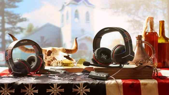 far cry 5 headset top