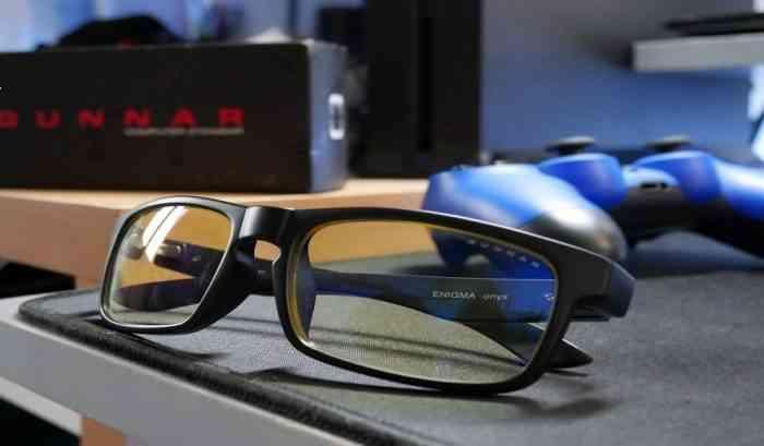 gunnar intercept onyx gaming glasses feature