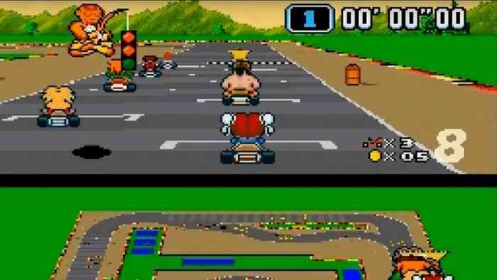 Street Fighter 2 Mario Kart Mashup
