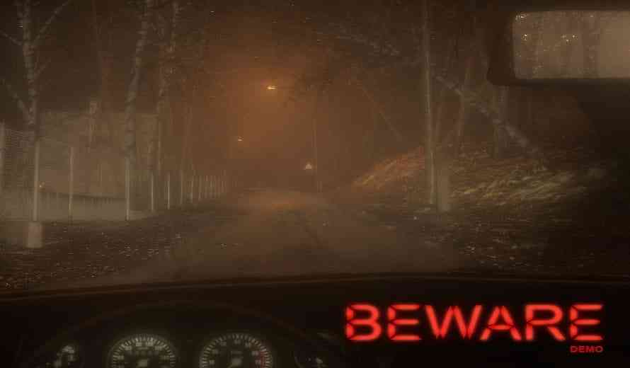 Survival Horror Driving Game 'BEWARE' Launches Demo