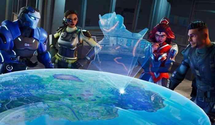 Fortnite Week 3 map