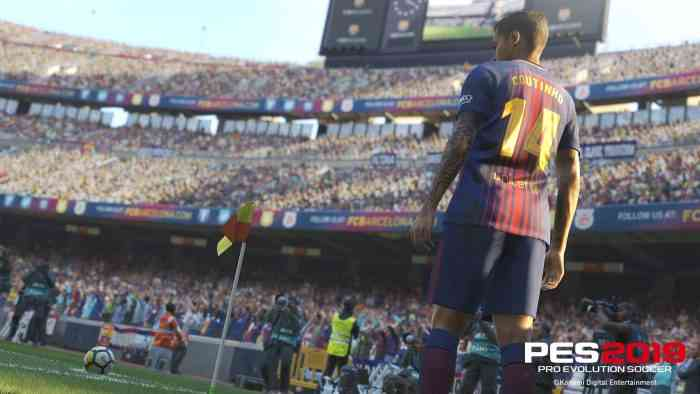 PES 2019 due in August with Philippe Coutinho on the cover
