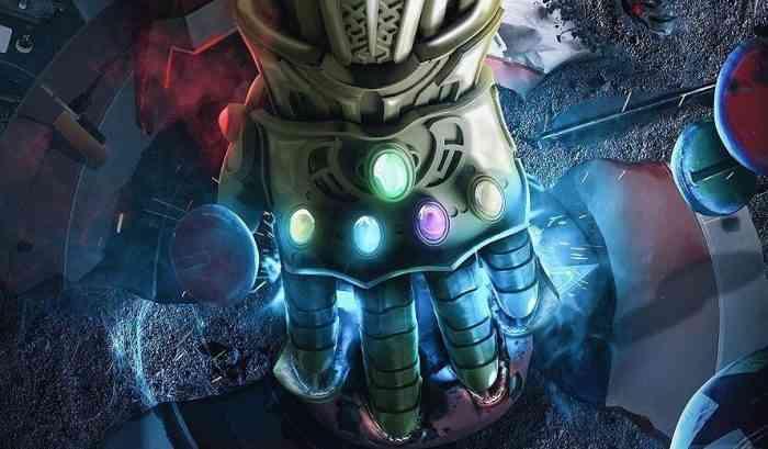 Thanos Avengers Infinity Gauntlet