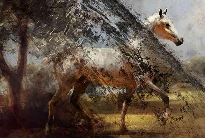 The Dang Battlefield Horse